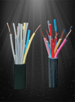 PTFE Multicore Twisted Shield Sheathed Cables
